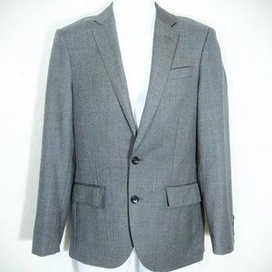 NWT J. Crew Men's Charcoal Ludlow Suit Jacket